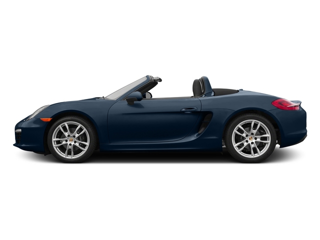Dark Blue Metallic 2015 Porsche Boxster Pictures Boxster Roadster 2D H6 photos side view