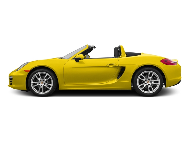 Racing Yellow 2015 Porsche Boxster Pictures Boxster Roadster 2D H6 photos side view