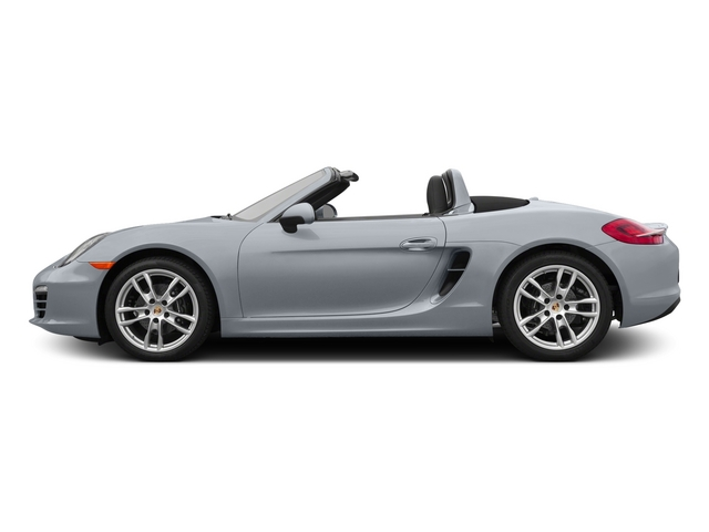 Rhodium Silver Metallic 2015 Porsche Boxster Pictures Boxster Roadster 2D H6 photos side view
