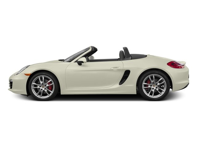 Carrara White Metallic 2015 Porsche Boxster Pictures Boxster Roadster 2D GTS H6 photos side view
