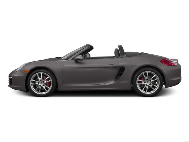 Agate Gray Metallic 2015 Porsche Boxster Pictures Boxster Roadster 2D GTS H6 photos side view