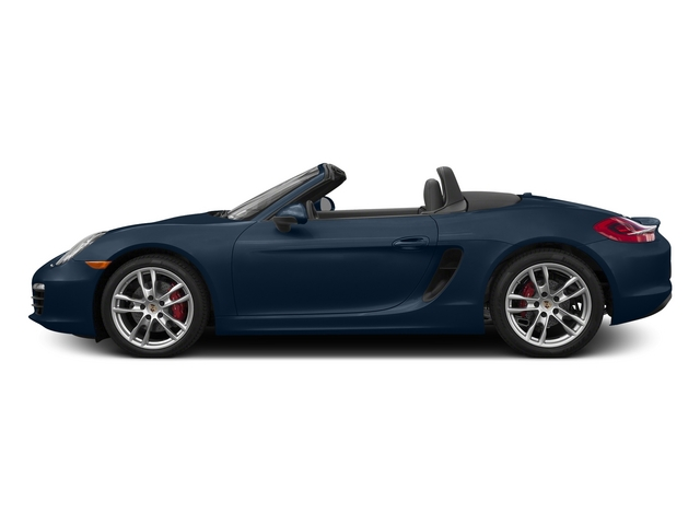 Dark Blue Metallic 2015 Porsche Boxster Pictures Boxster Roadster 2D GTS H6 photos side view