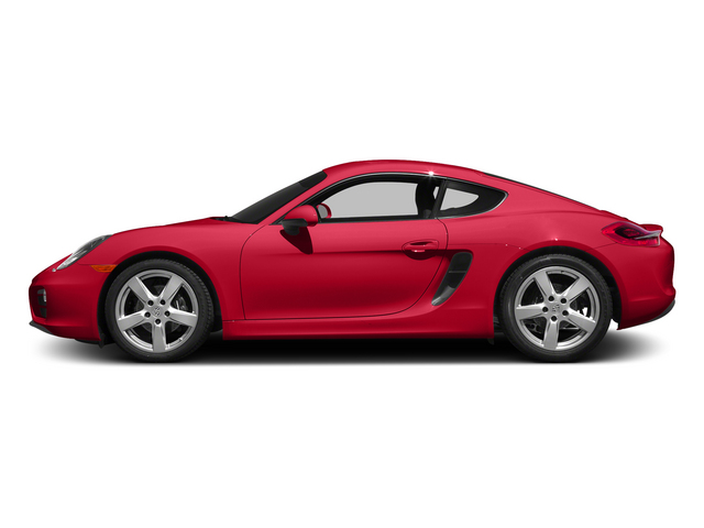 Guards Red 2015 Porsche Cayman Pictures Cayman Coupe 2D H6 photos side view