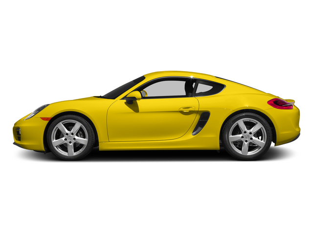Racing Yellow 2015 Porsche Cayman Pictures Cayman Coupe 2D H6 photos side view