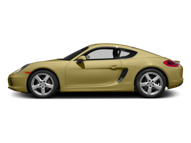 Lime Gold Metallic 2015 Porsche Cayman Pictures Cayman Coupe 2D H6 photos side view