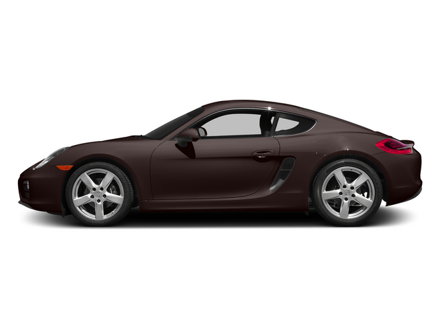 Mahogany Metallic 2015 Porsche Cayman Pictures Cayman Coupe 2D H6 photos side view