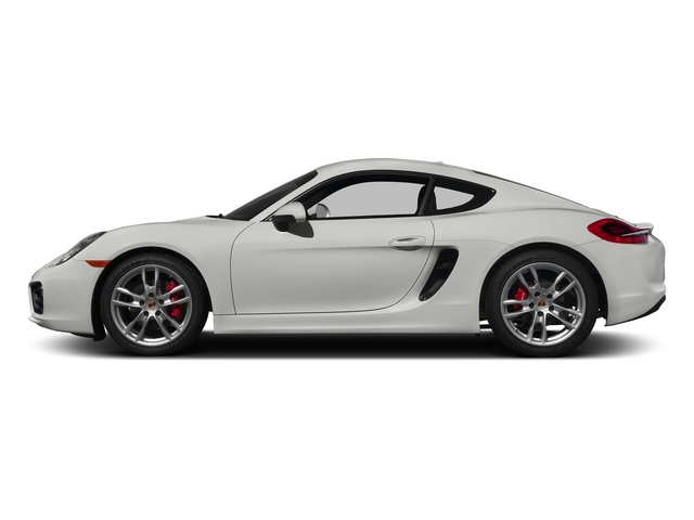 White 2015 Porsche Cayman Pictures Cayman Coupe 2D GTS H6 photos side view
