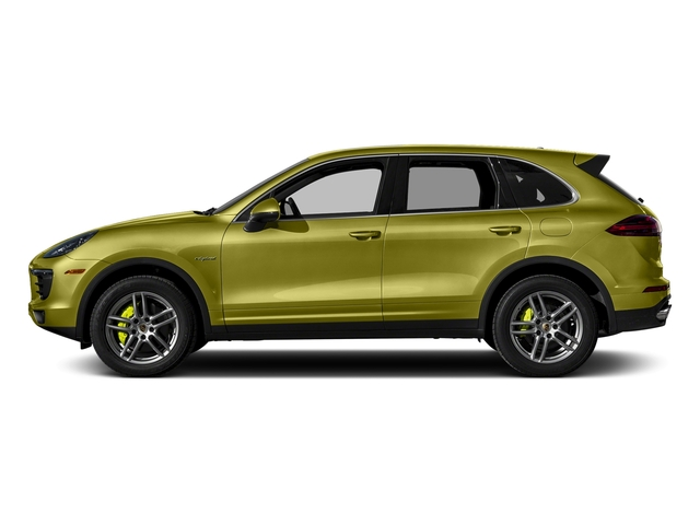 Peridot Metallic 2015 Porsche Cayenne Pictures Cayenne Utility 4D S V6 e-Hybrid AWD photos side view