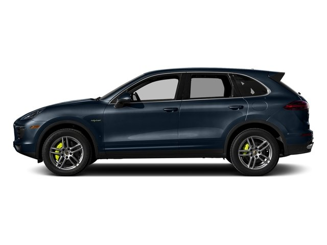 Moonlight Blue Metallic 2015 Porsche Cayenne Pictures Cayenne Utility 4D S V6 e-Hybrid AWD photos side view