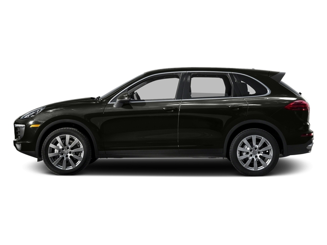 Jet Black Metallic 2015 Porsche Cayenne Pictures Cayenne Utility 4D AWD V6 T-Diesel photos side view