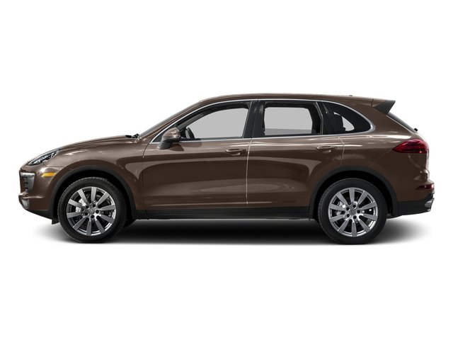 Umber Metallic 2015 Porsche Cayenne Pictures Cayenne Utility 4D AWD V6 T-Diesel photos side view