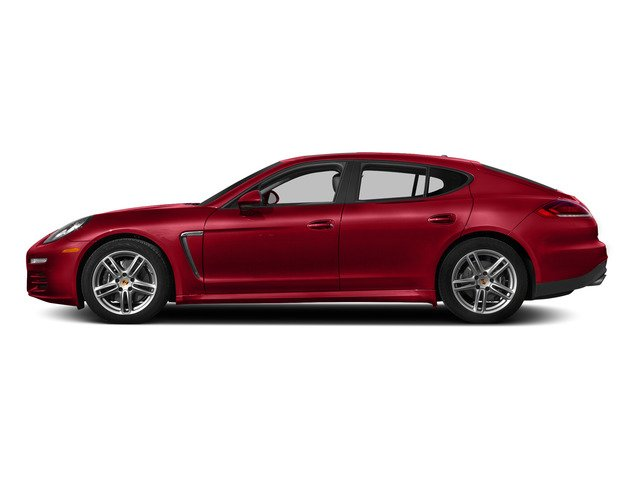 Carmine Red 2015 Porsche Panamera Pictures Panamera Hatchback 4D H6 photos side view