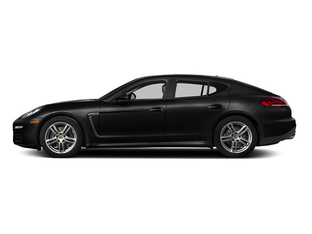 Jet Black Metallic 2015 Porsche Panamera Pictures Panamera Hatchback 4D 4 AWD H6 photos side view