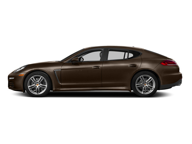 Chestnut Brown Metallic 2015 Porsche Panamera Pictures Panamera Hatchback 4D H6 photos side view