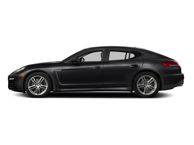 Black 2015 Porsche Panamera Pictures Panamera Hatchback 4D H6 photos side view