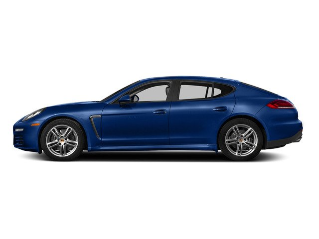 Sapphire Blue Metallic 2015 Porsche Panamera Pictures Panamera Hatchback 4D H6 photos side view
