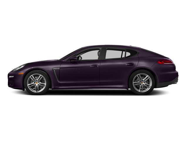 Amethyst Metallic 2015 Porsche Panamera Pictures Panamera Hatchback 4D H6 photos side view