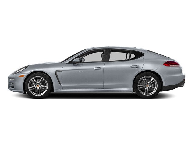 Rhodium Silver Metallic 2015 Porsche Panamera Pictures Panamera Hatchback 4D H6 photos side view