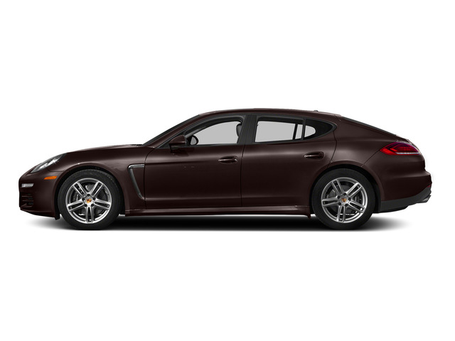 Mahogany Metallic 2015 Porsche Panamera Pictures Panamera Hatchback 4D H6 photos side view