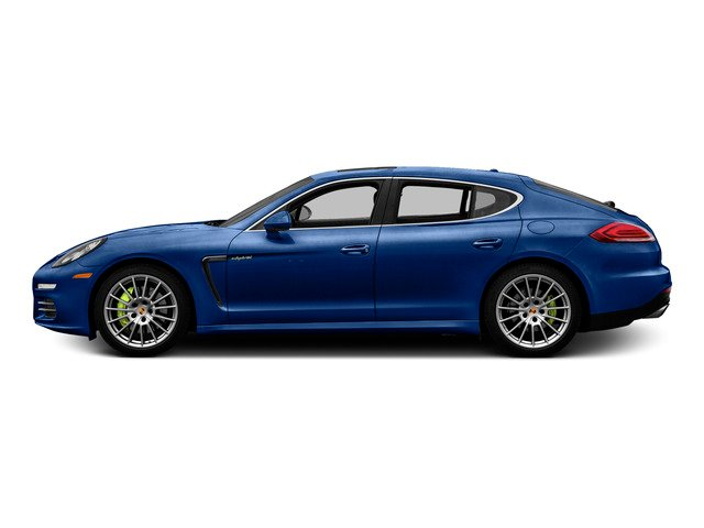 Sapphire Blue Metallic 2015 Porsche Panamera Pictures Panamera Hatchback 4D S e-Hybrid V6 photos side view