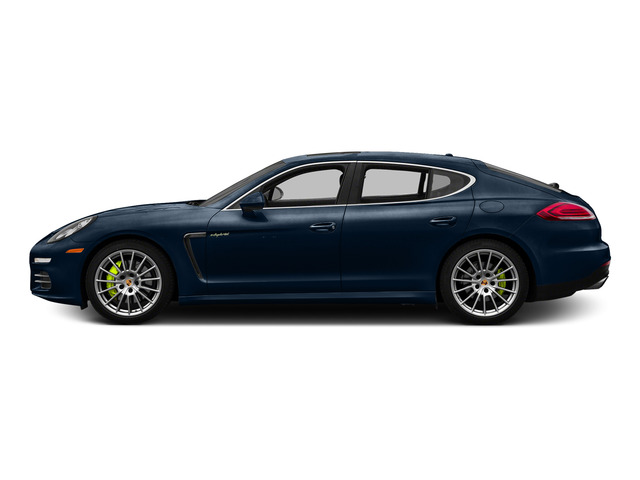 Dark Blue Metallic 2015 Porsche Panamera Pictures Panamera Hatchback 4D S e-Hybrid V6 photos side view