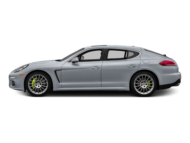Rhodium Silver Metallic 2015 Porsche Panamera Pictures Panamera Hatchback 4D S e-Hybrid V6 photos side view