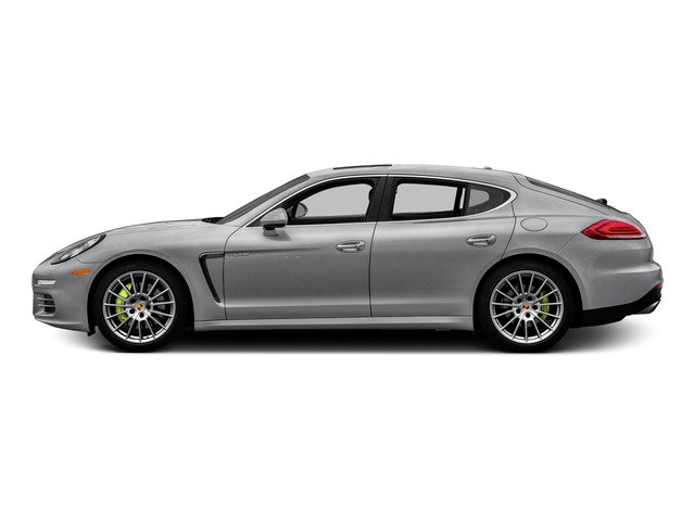 GT Silver Metallic 2015 Porsche Panamera Pictures Panamera Hatchback 4D S e-Hybrid V6 photos side view