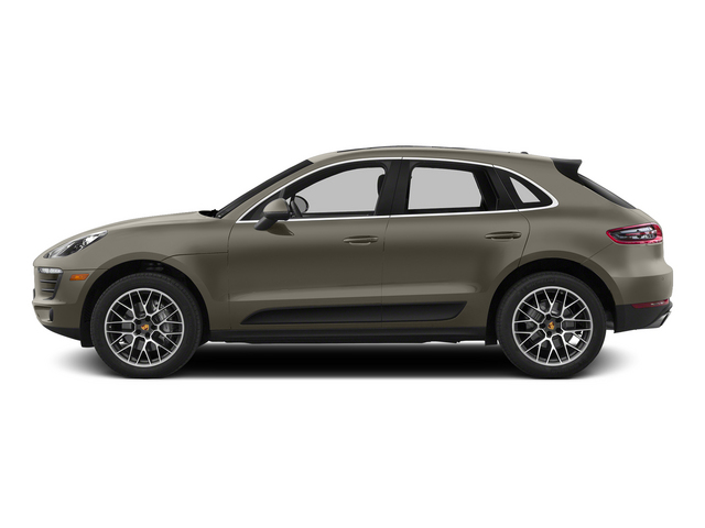 Palladium Metallic 2015 Porsche Macan Pictures Macan Utility 4D AWD V6 Turbo photos side view