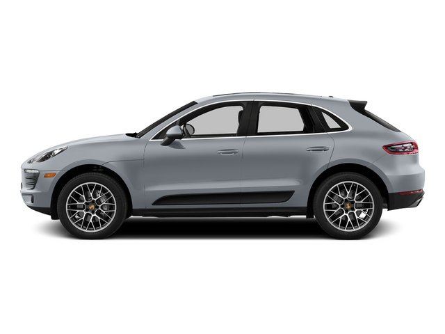 Rhodium Silver Metallic 2015 Porsche Macan Pictures Macan Utility 4D AWD V6 Turbo photos side view