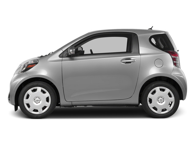 Classic Silver Metallic 2015 Scion iQ Pictures iQ Hatchback 3D I4 photos side view