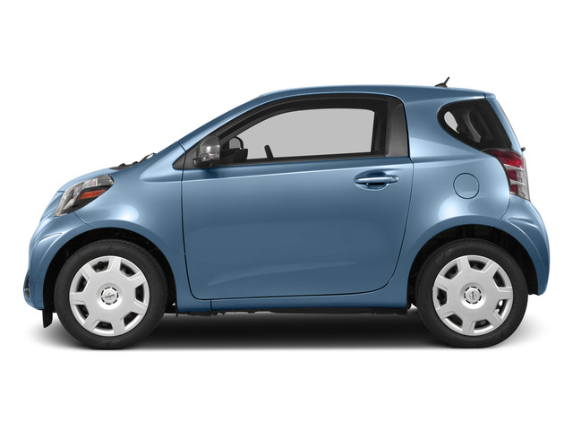 Pacific Blue Metallic 2015 Scion iQ Pictures iQ Hatchback 3D I4 photos side view