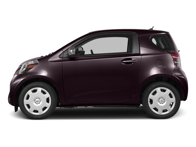 Black Currant Metallic 2015 Scion iQ Pictures iQ Hatchback 3D I4 photos side view
