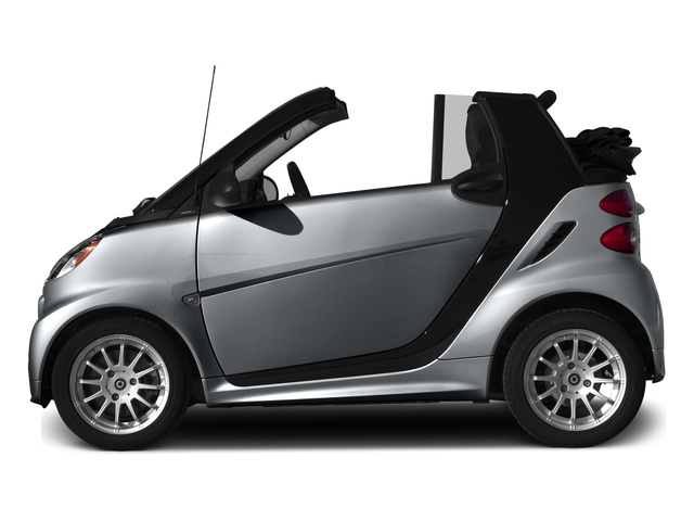 Gray Matte 2015 smart fortwo Pictures fortwo Convertible 2D Passion I3 photos side view