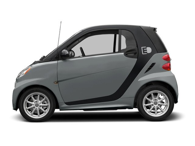 Silver Metallic 2015 smart fortwo electric drive Pictures fortwo electric drive Coupe 2D Electric photos side view