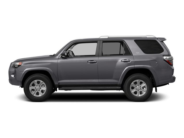 Magnetic Gray Metallic 2015 Toyota 4Runner Pictures 4Runner Utility 4D Trail Edition 4WD V6 photos side view