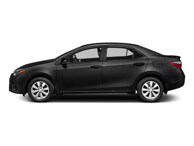 Black Sand Mica 2015 Toyota Corolla Pictures Corolla Sedan 4D L I4 photos side view