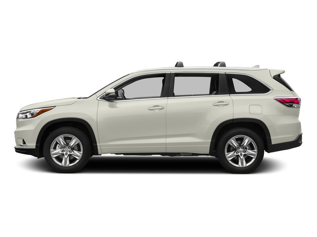 Blizzard Pearl 2015 Toyota Highlander Pictures Highlander Utility 4D LE 2WD I4 photos side view