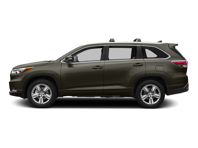Predawn Gray Mica 2015 Toyota Highlander Pictures Highlander Utility 4D Limited 2WD V6 photos side view
