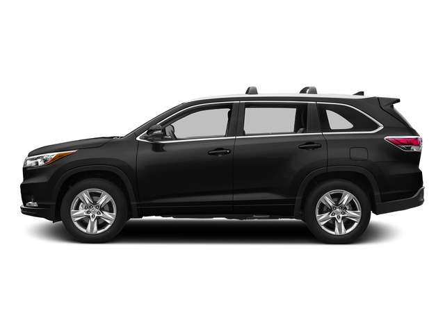 Attitude Black Metallic 2015 Toyota Highlander Pictures Highlander Utility 4D LE 2WD I4 photos side view