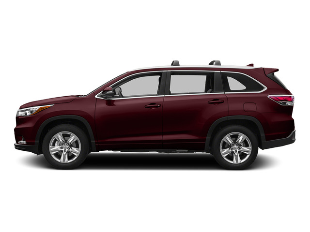Ooh La La Rouge Mica 2015 Toyota Highlander Pictures Highlander Utility 4D LE 2WD I4 photos side view