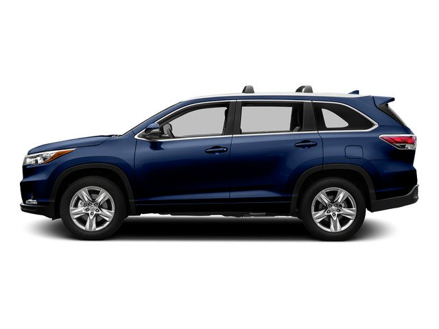 Nautical Blue Metallic 2015 Toyota Highlander Pictures Highlander Utility 4D Limited 2WD V6 photos side view