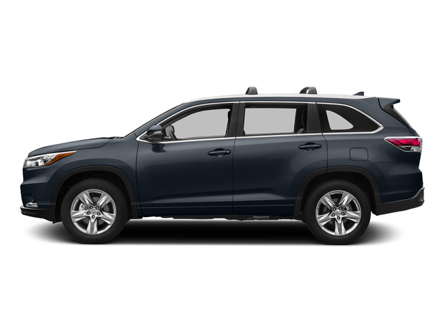 Shoreline Blue Pearl 2015 Toyota Highlander Pictures Highlander Utility 4D LE 2WD I4 photos side view