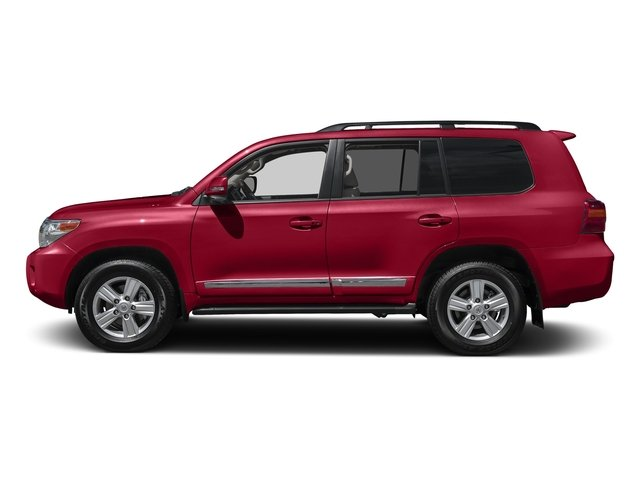 Salsa Red Pearl 2015 Toyota Land Cruiser Pictures Land Cruiser Utility 4D 4WD V8 photos side view