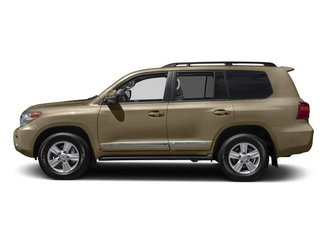 Sonora Gold Pearl 2015 Toyota Land Cruiser Pictures Land Cruiser Utility 4D 4WD V8 photos side view