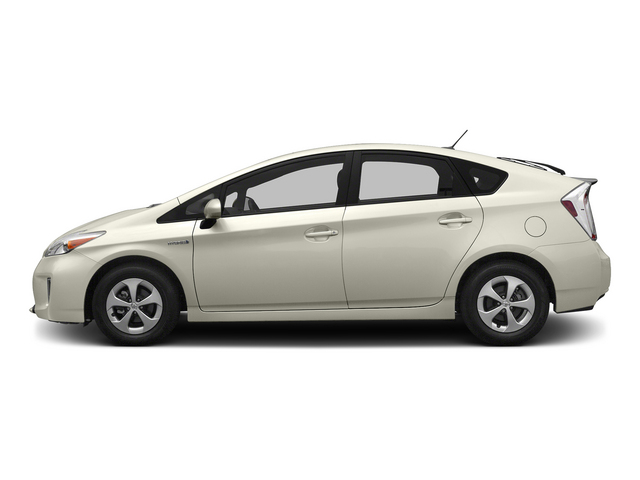 Blizzard Pearl 2015 Toyota Prius Pictures Prius Liftback 5D Five I4 Hybrid photos side view