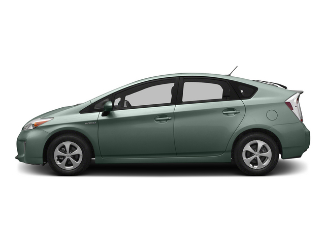 Sea Glass Pearl 2015 Toyota Prius Pictures Prius Liftback 5D Five I4 Hybrid photos side view