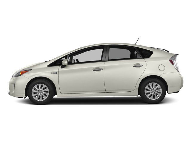 Blizzard Pearl 2015 Toyota Prius Plug-In Pictures Prius Plug-In Liftback 5D Plug-In I4 Hybrid photos side view