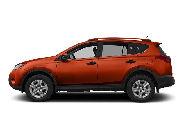 Hot Lava 2015 Toyota RAV4 Pictures RAV4 Utility 4D LE AWD I4 photos side view