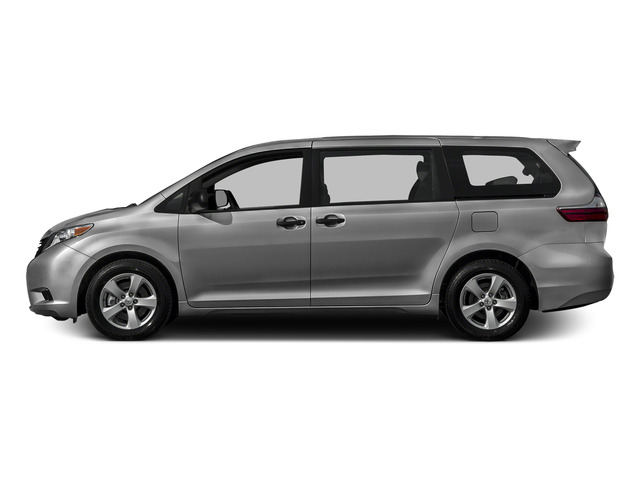 Silver Sky Metallic 2015 Toyota Sienna Pictures Sienna Wagon 5D LE V6 photos side view