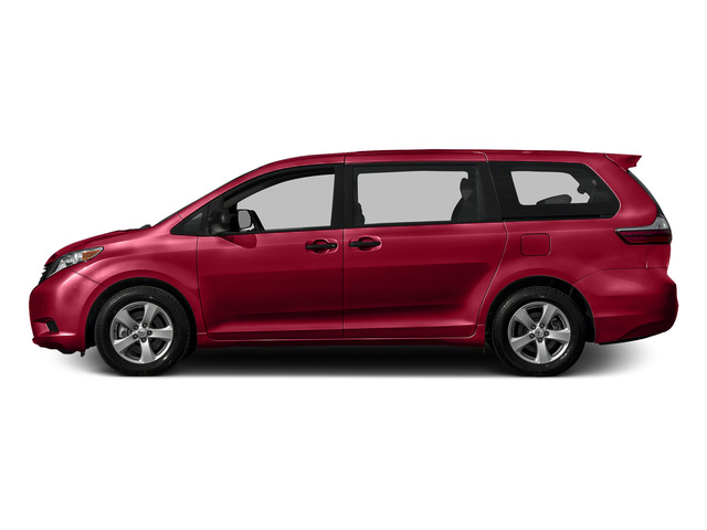 Salsa Red Pearl 2015 Toyota Sienna Pictures Sienna Wagon 5D LE V6 photos side view